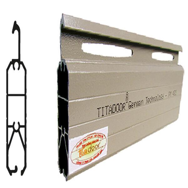 Cửa Cuốn Titadoor Pm482 |1.15mm| 10,5kg | 1,050,000đ/m2