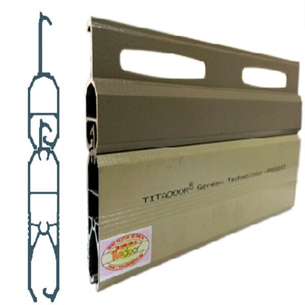 Cửa Cuốn Titadoor PM960ST |1.5-1.6mm | 13kg | 1,300,000đ/m2