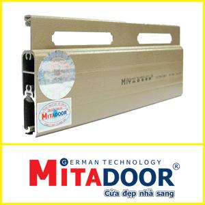 Cửa Cuốn Mitadoor X50R-1.4-1.6mm | 2 Lông Nheo | 1,750,000đ/m2